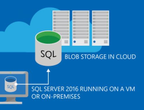 Archiving SQL database backups using Azure blob storage
